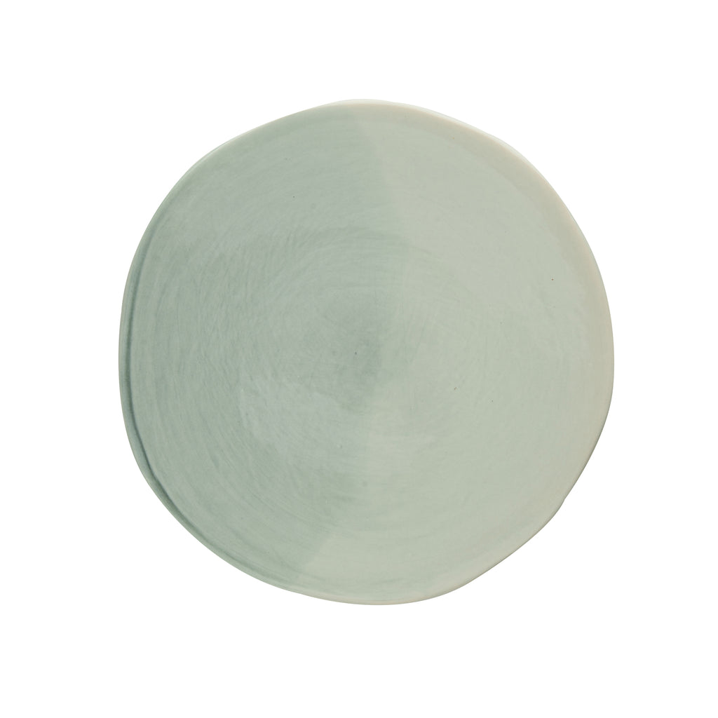 Carmel Dessert Plate, Light Blue Gray, Set of 4