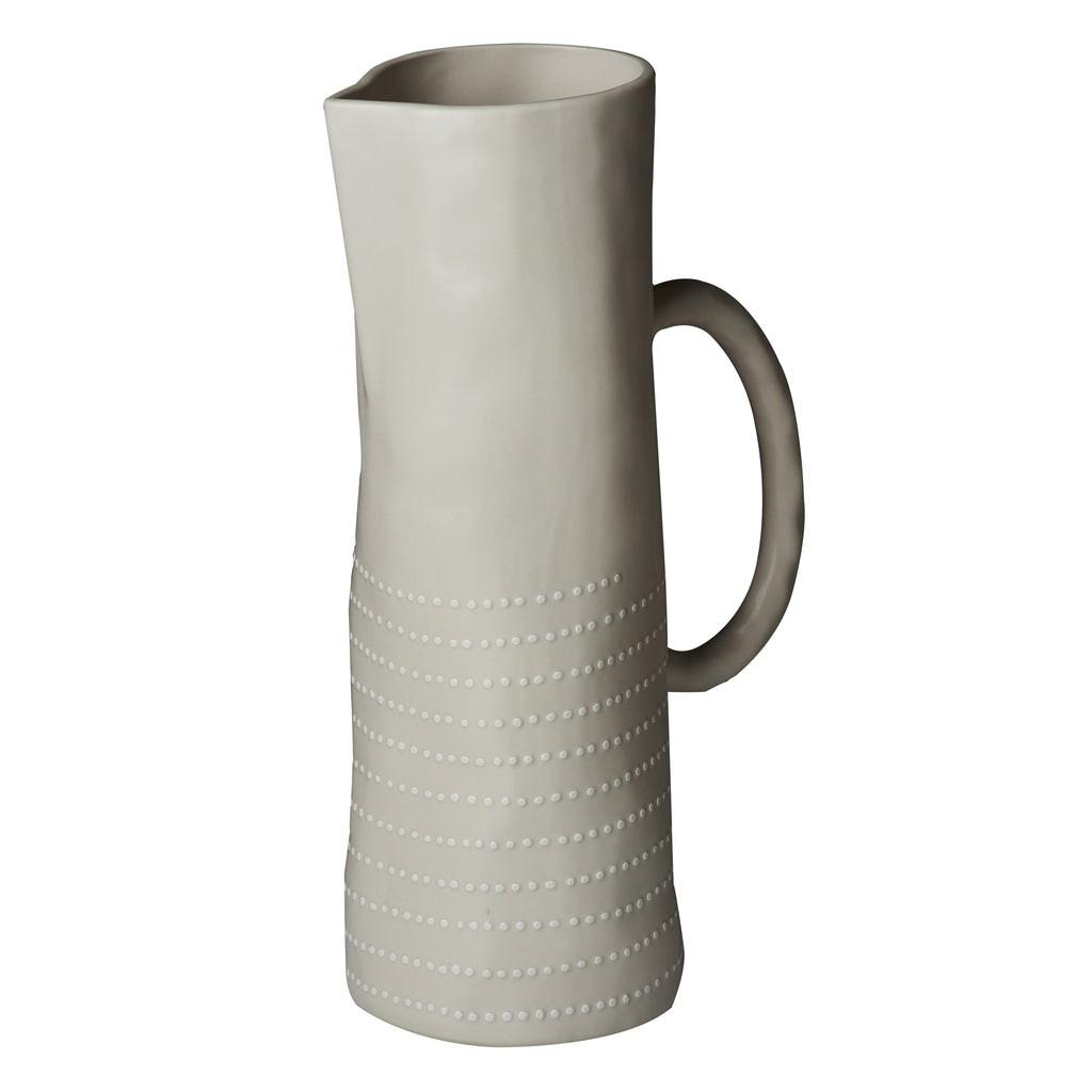 Carmel Pitcher, Off-White, Matte