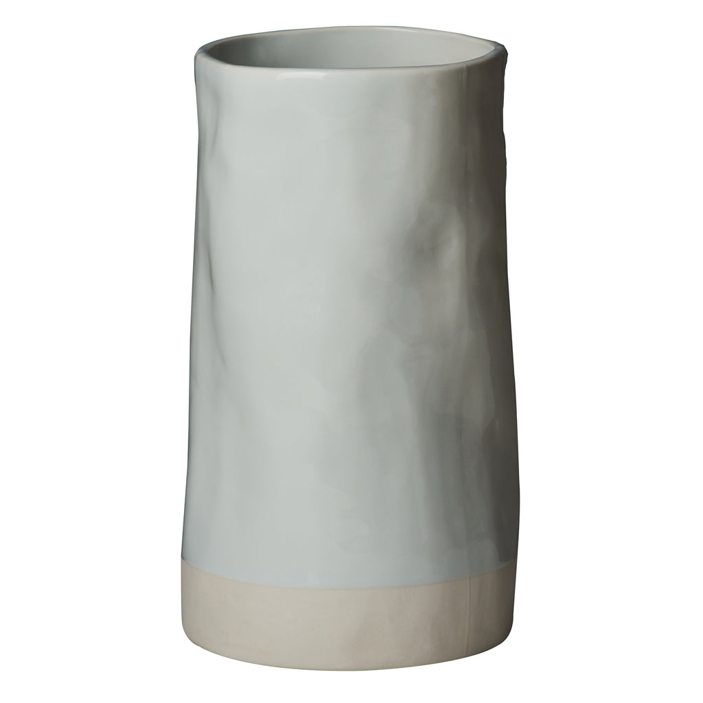 Carmel Vase, Pale Blue, Shiny