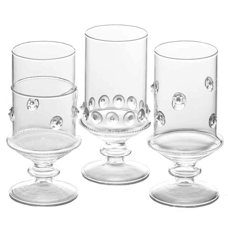 La Boheme Footed Votives, Set of 6