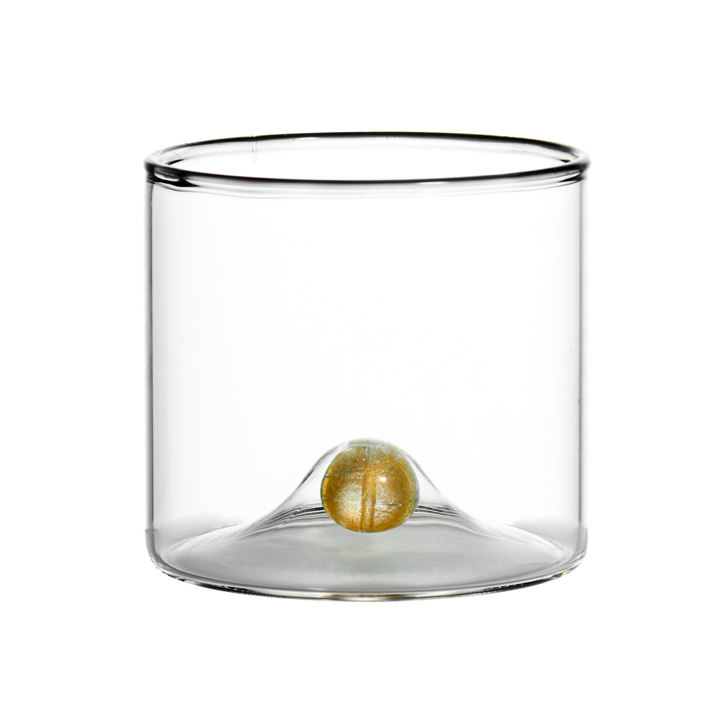 Golden Globe Double Old-Fashioned Glass, Set of 4