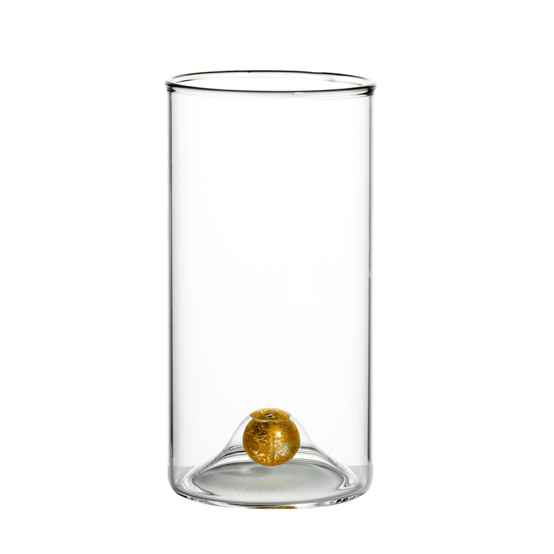 Golden Globe Highball Glass, Set of 4