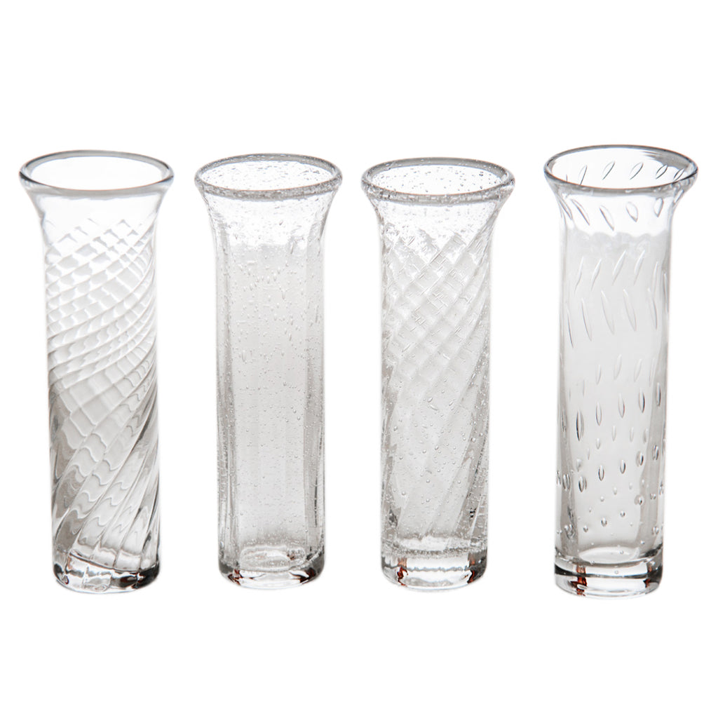 Bud Vases, Set of 4