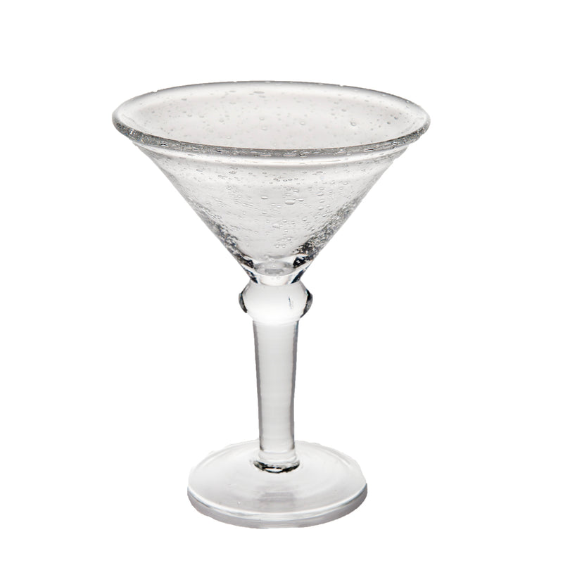 St. Remy Bubble Glass Martini, Set of 4