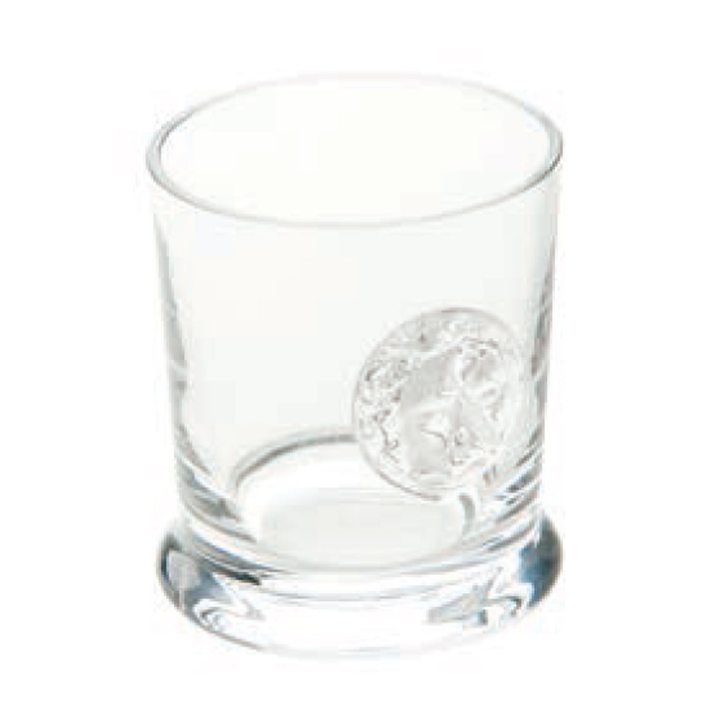 Lionshead Double Old Fashioned with Medallion Glass, Set of 4