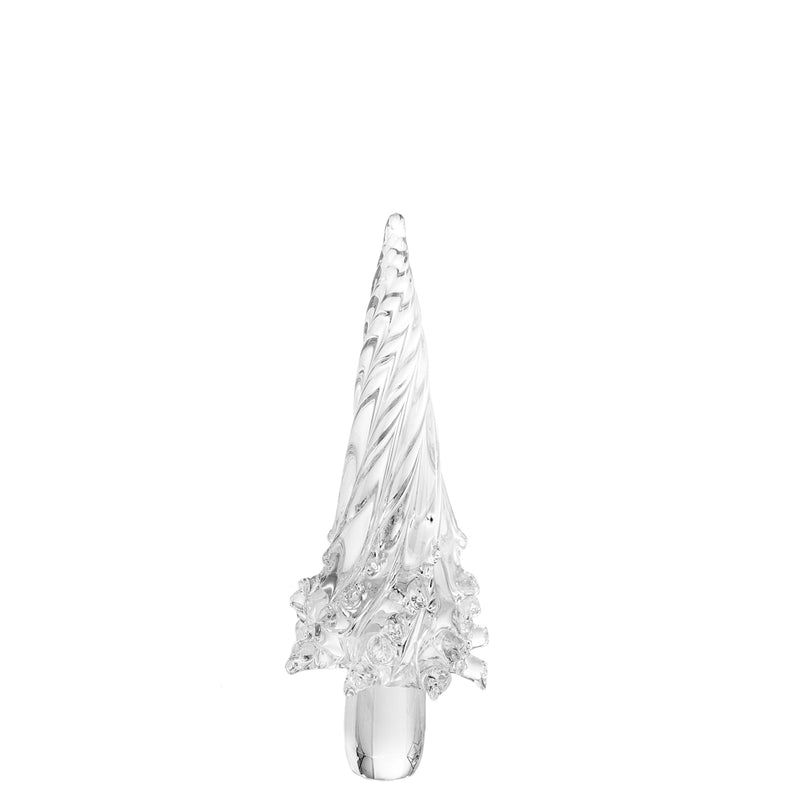 Holiday Glass Tree, Clear, Small