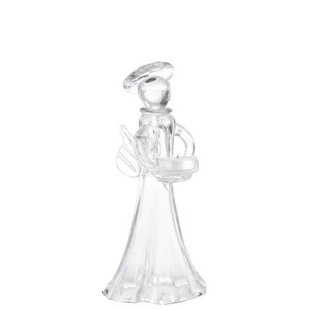 Angel Votive Holder, Clear, Medium
