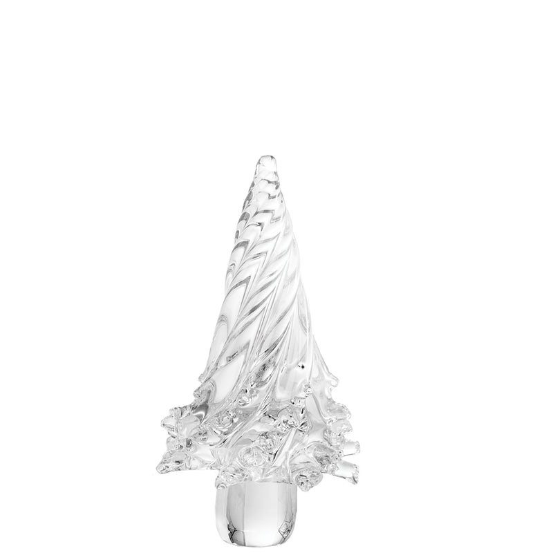 Holiday Clear Glass Tree, Small