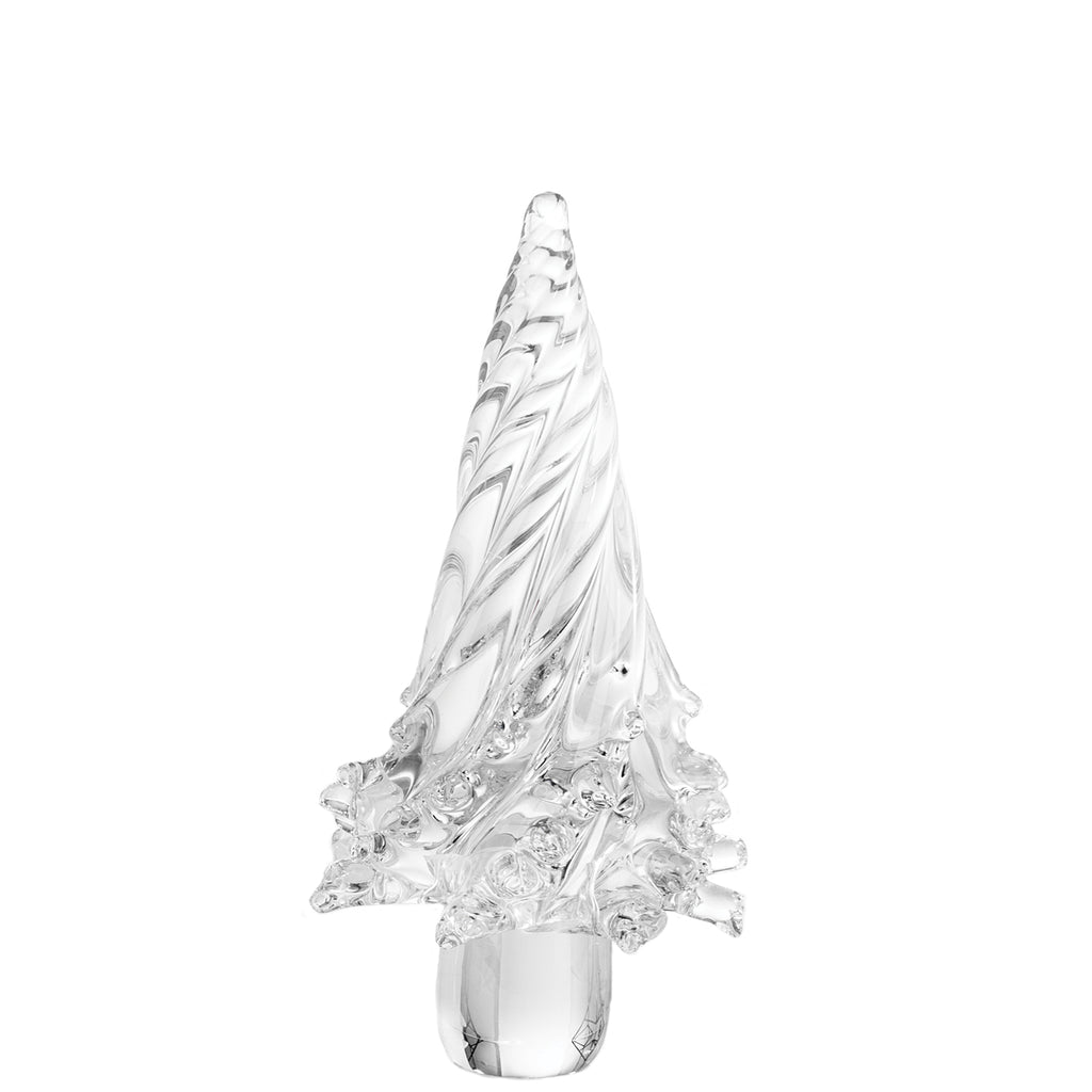 Holiday Clear Glass Tree, Medium