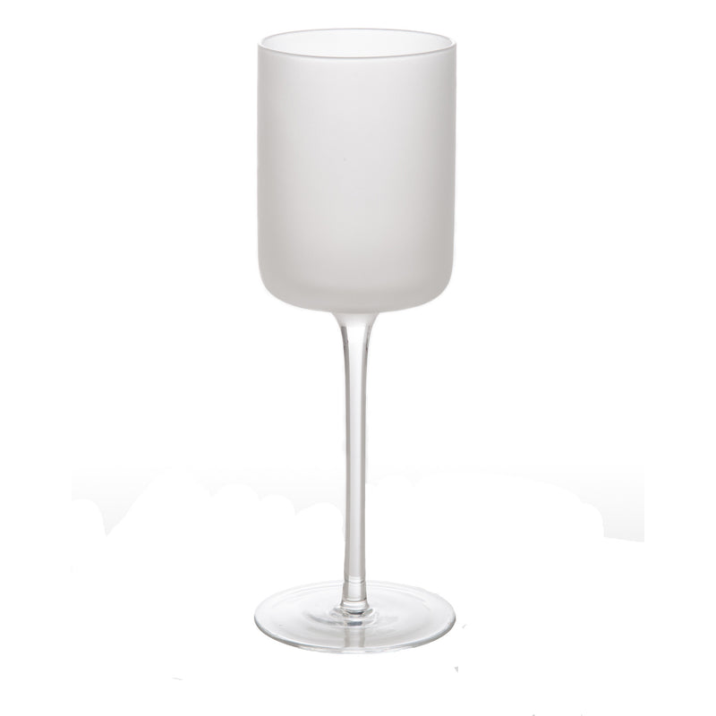 Frosted Water Glass, Set of 4