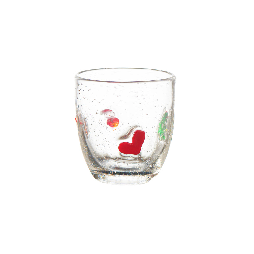 Jingle Bubble-Glass Double Old-Fashioned, Set of 4