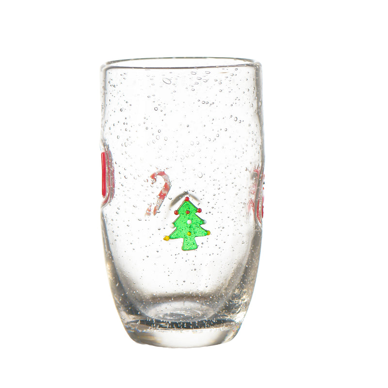 Jingle Bubble-Glass Highball, Set of 4