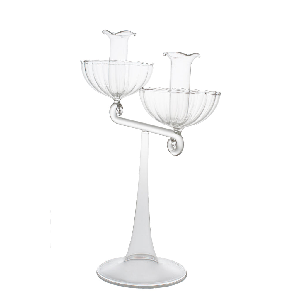 La Boheme Candelabra in Clear