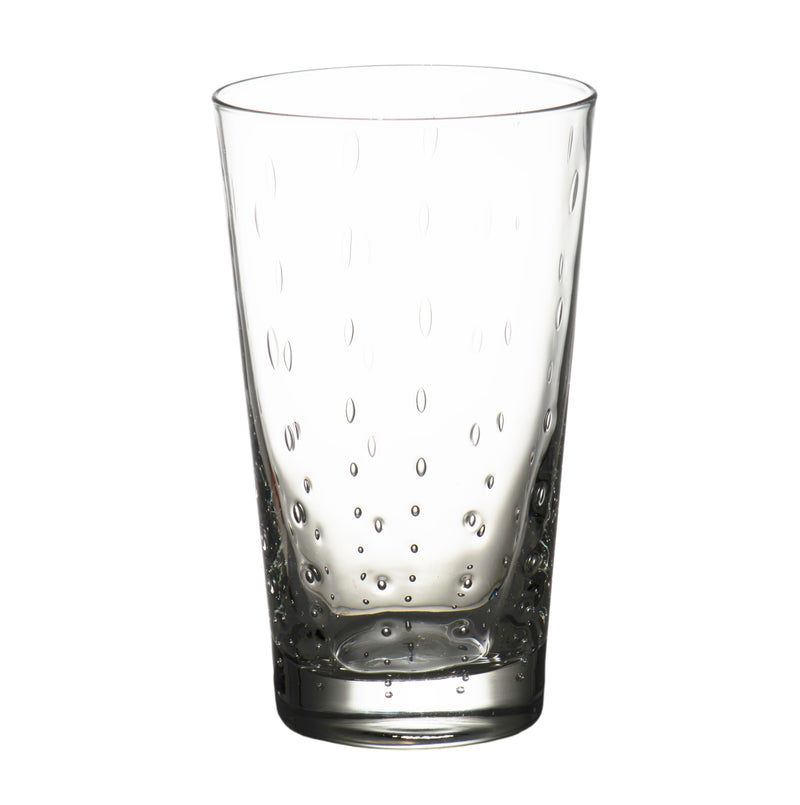 Rain Drop Clear Highball, Set of 4