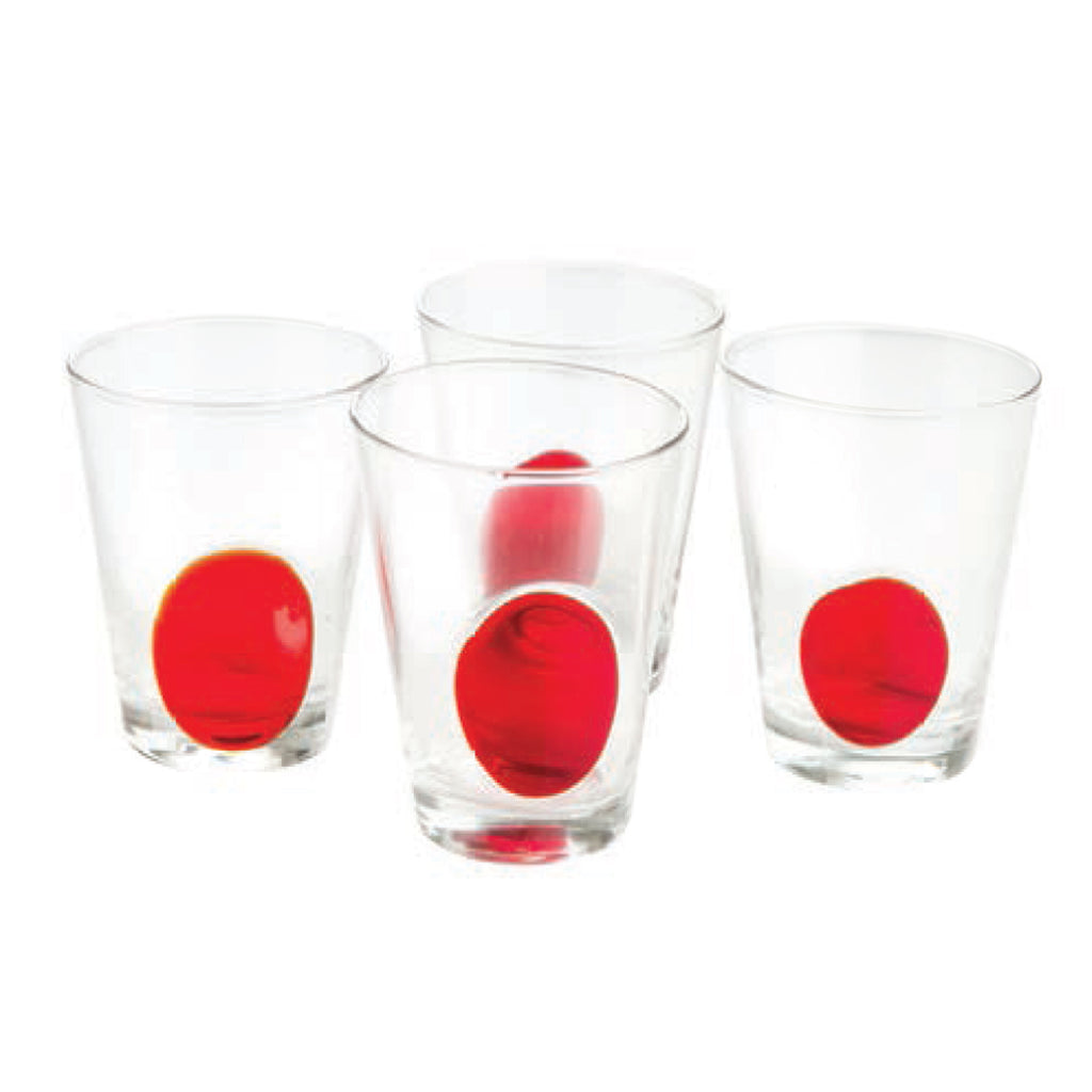 Clear DOF w/ Red Dot, Set of 4