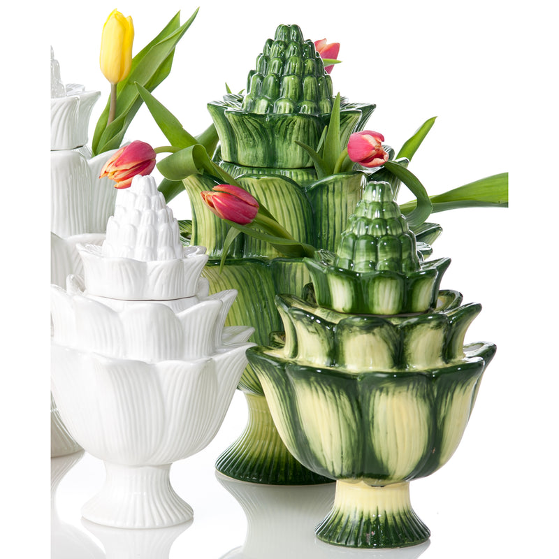 Artichoke Tulipiere, White, Large