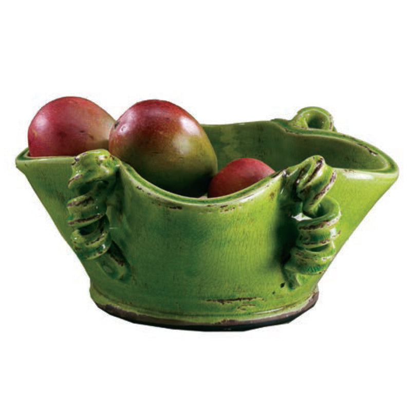 Vinci Centerpiece Bowl, Bright Green
