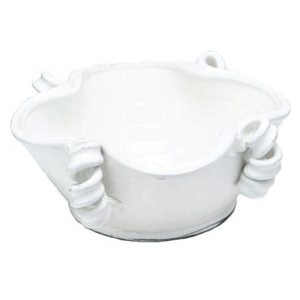 Vinci Centerpiece Bowl, White