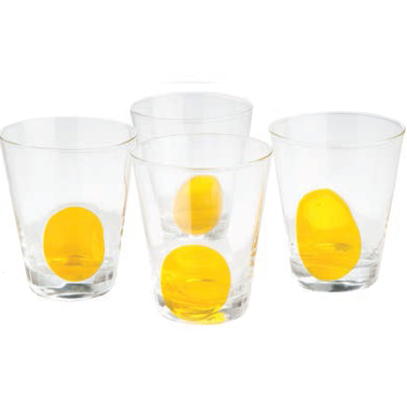Clear DOF w/ Yellow Dot, Set of 4