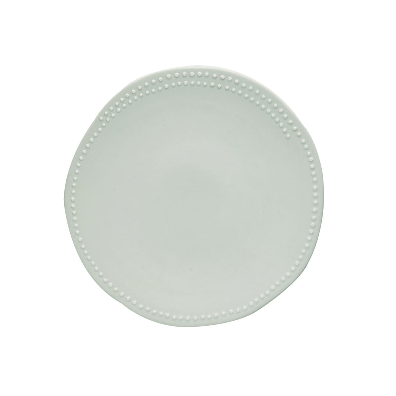 Carmel Dessert Plate, Off-White, Set of 4