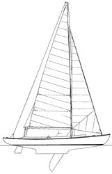 23' Double Ended Sloop  -STUDY PLAN-