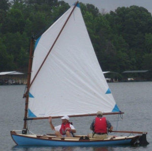 13' Melonseed skiff from WB Launchings