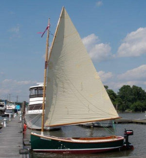 14'11 Wittholz Dinghy built by David Resner