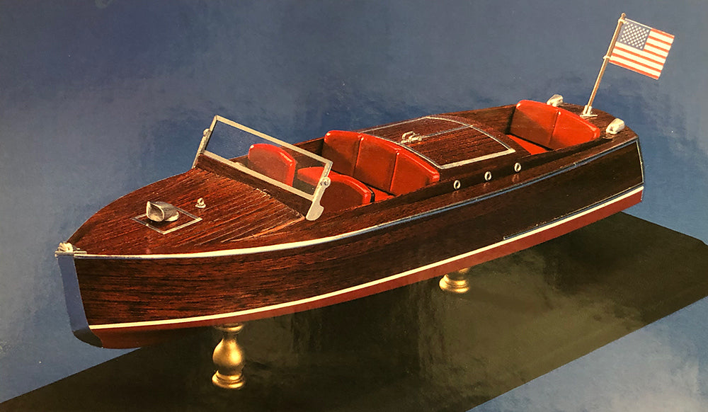 RUNABOUT Model Boat KIT Chris-Craft 24 FT