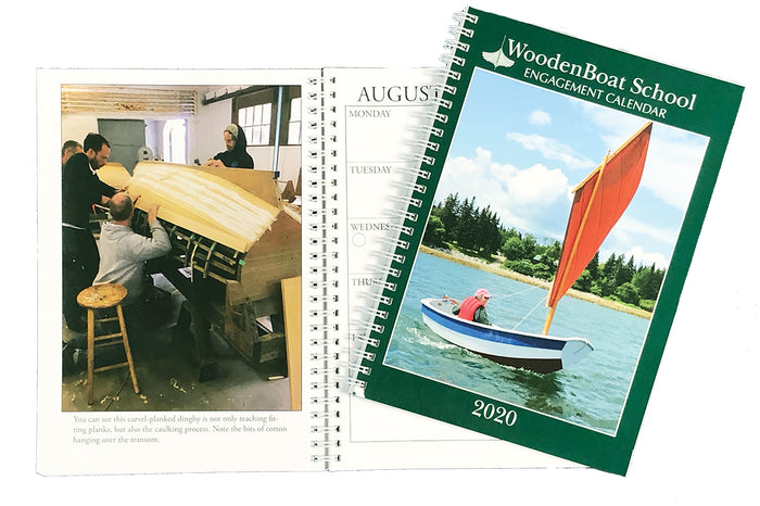 WoodenBoat School Engagement Calendar 2020