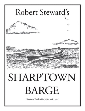 Sharptown Barge - DIGITAL Plans