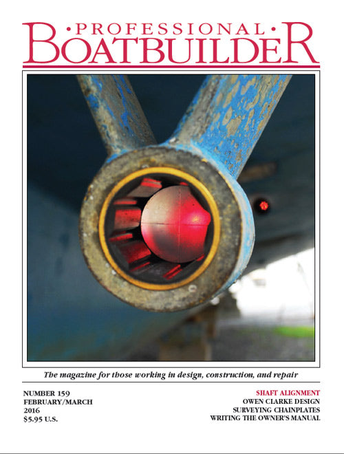 Professional BoatBuilder #159 Feb/Mar 2016