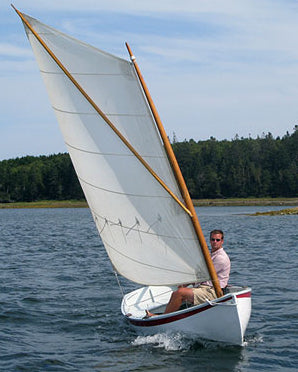12 ft catspaw dinghy sailing