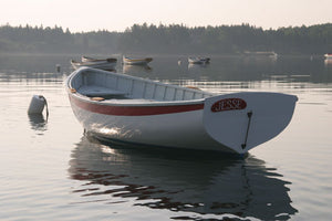 12 ft catspaw dinghy on mooring