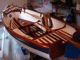 12 ft Marisol skiff interior
