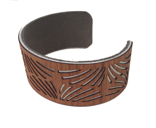 Great Cove Cuff Bracelet - Cherry