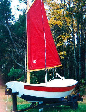 7' Nutshell built by Charles Rideout