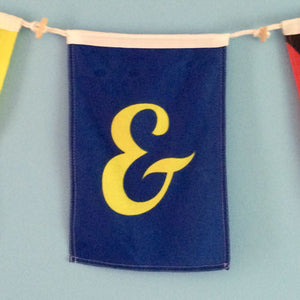 Decorative Signal Flag - Ampersand