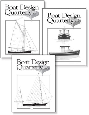 Boat Design Quarterly set 41-50 DIGITAL