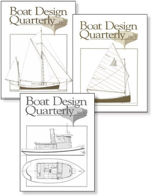 Boat Design Quarterly set 1-10 DIGITAL