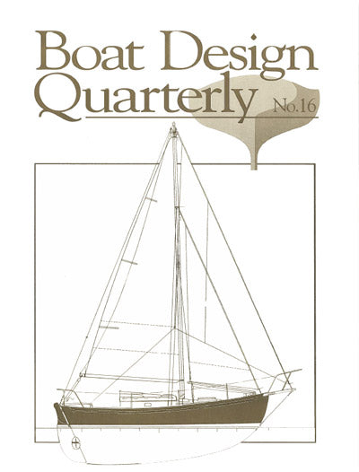 Boat Design Quarterly Vol #16