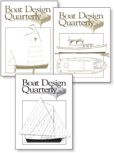 Boat Design Quarterly Set 21-30