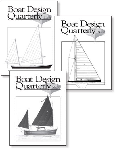 Boat Design Quarterly set 31-40 DIGITAL