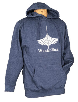 Hooded Sweatshirt - Blue Heather