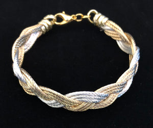 Turks Head - Gold/Silver - Bracelet