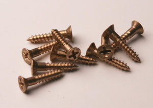 #6 Bronze Flat Head Wood Screws