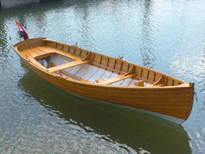 This Catherine, christened Anna, was built by students at De Bootbouwschool (The Boatbuilding School) in Den Helden, Netherlands. As seen in Small Boats Monthly, May 2018.