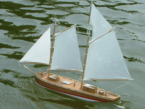 Schooner Model Kit - Coaster