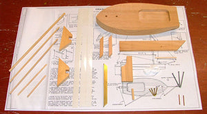 Lug Rigged Sloop Model Kit - Cricket