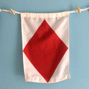 Decorative Signal Flag - F