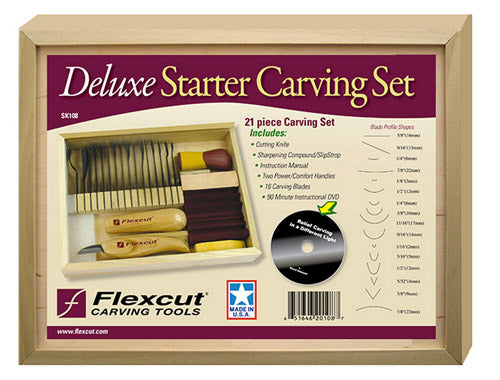 Carving Set: Flexcut